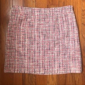 Kate Spade Skirt the Rules Tweed Size 10 NWOT